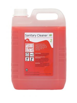 Premium Sanitary Cleaner, sanitairreiner  can 5 liter (2cans)