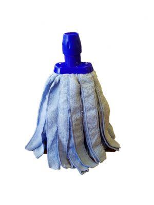 Minimop microvezel 200 gram blauw