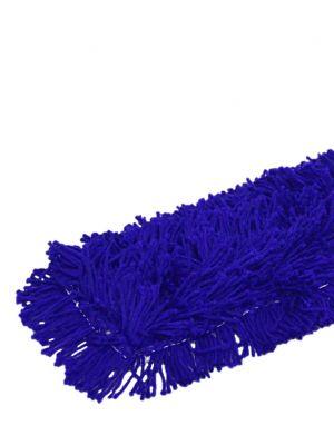 HYGYEN zwabberhoes acryl met drukknopen blauw 160cm