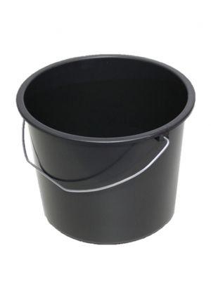 Emmer standaard 12 L zwart