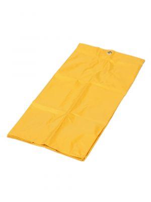 Kunststof materiaalwagen verzamelzak geel 74ltr.