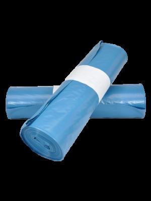 Plastic zakken LDPE 70x110/T70 blauw (10x20st.)