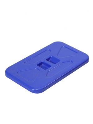 Deksel voor afvalzakhouder 70L blauw