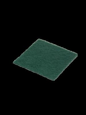 Handpads groen 15x15cm, 7mm dik (10st)