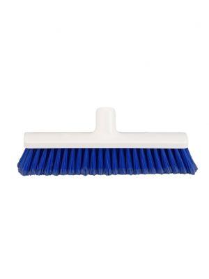Zaalveger 30cm gepluimd PBT, blauw