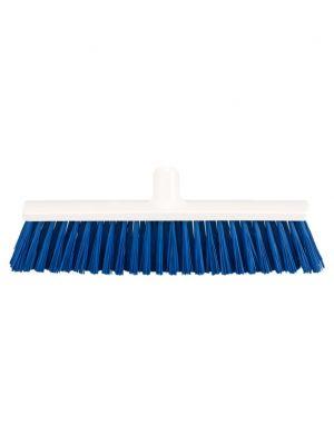 Straatbezem 40cm PBT, blauw