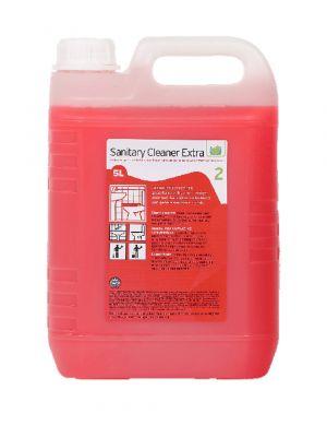 Sanitairreiniger Extra. can  5 liter (2cans)